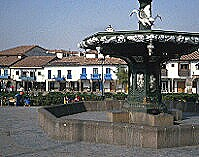 Plaza in Cuzco